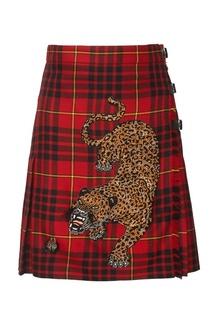 Шерстяная юбка Gucci