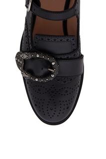 Кожаные ботинки Gucci