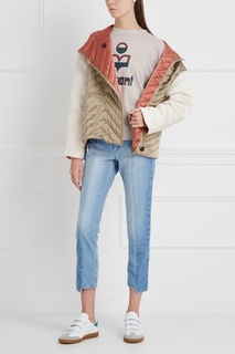 Стеганая куртка из шелка Isabel Marant