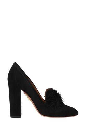 Замшевые туфли Wild Loafer Pump