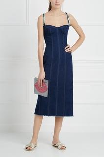 Платье из денима Natasha Zinko