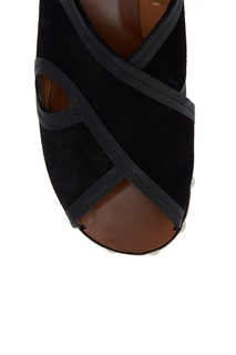 Замшевые сандалии Zipla Isabel Marant