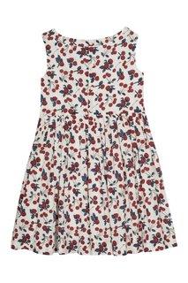 Хлопковое платье Alina Bonpoint