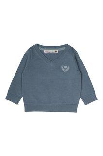 Хлопковый пуловер Bonpoint