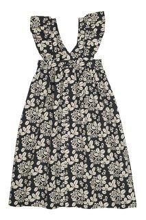 Хлопковое платье Eleana Bonpoint