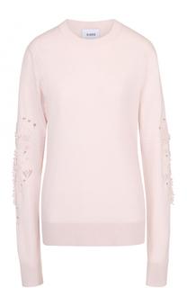 Кашемировый пуловер с декоративной отделкой Barrie