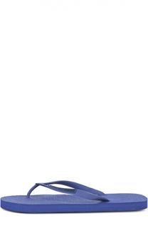 Шлепанцы на резиновой подошве Emporio Armani