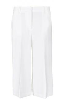 Укороченные широкие брюки с карманами Theory