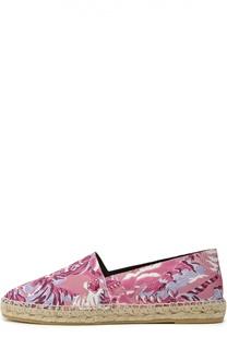 Текстильные эспадрильи Flying Tiger с принтом Kenzo