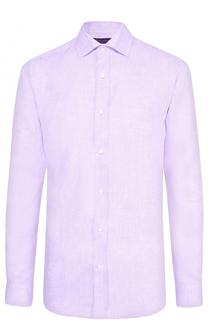 Льняная рубашка с воротником кент Ralph Lauren