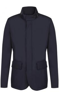 Куртка на молнии с воротником-стойкой BOSS