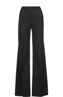 Шерстяные расклешенные брюки MSGM