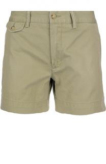 Хлопковые мини-шорты Polo Ralph Lauren