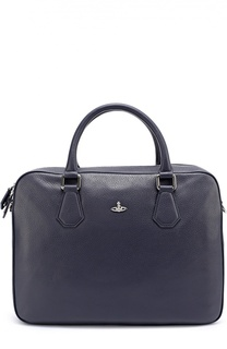Кожаная сумка для ноутбука с плечевым ремнем Vivienne Westwood