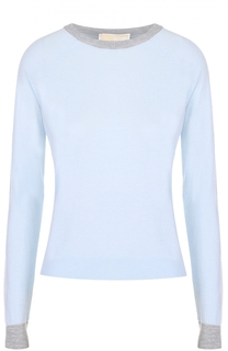 Пуловер прямого кроя с круглым вырезом MICHAEL Michael Kors