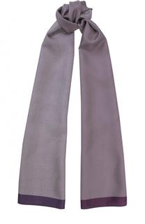 Шелковый шарф с узором Polka Dot Eton