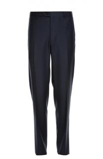 Шерстяные брюки прямого кроя Lanvin