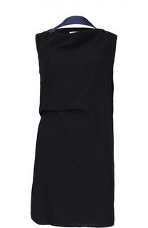 Прямое платье с контрастной отделкой Acne Studios