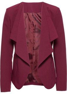 Пиджак с удлиненными лацканами (черный) Bonprix