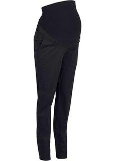 Для будущих мам: брюки-чиносы (темно-синий) Bonprix