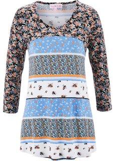 Цветочное платье в стиле пэчворк от Maite Kelly (белый в цветочек) Bonprix