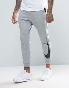 Серые джоггеры классического кроя с манжетами Nike 831816-063 - Серый
