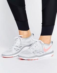 Кроссовки Nike Training Free TR Flyknit - Белый