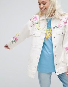 Куртка с вышивкой и заклепками ASOS Premium - Мульти