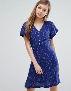 Чайное платье Trollied Dolly Cactus - Синий