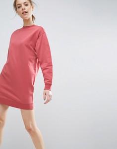 Платье-свитшот в стиле oversize ASOS Ultimate - Красный