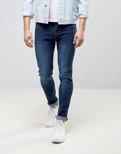 Темно-выбеленные джинсы скинни Loyalty and Faith Beattie - Синий
