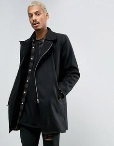 Пальто с добавлением шерсти Criminal Damage Nuckie - Черный