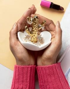 Подставка для украшений в виде кактуса New Look - Белый