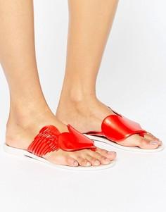 Красные сандалии Vivienne Westwood For Melissa Harmonic Cherub - Красный