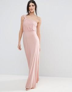 Платье макси ASOS - Фиолетовый