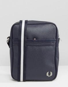 Темно-синяя сумка с зернистой текстурой Fred Perry Scotch - Темно-синий