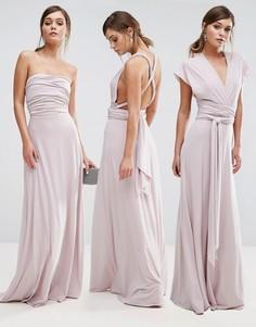 Платье макси с поясом Coast Corwin - Розовый