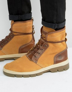 Кожаные ботинки с 4 люверсами Timberland Cityblazer - Бежевый