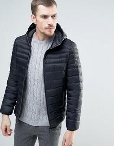 Стеганая куртка с капюшоном Celio - Черный