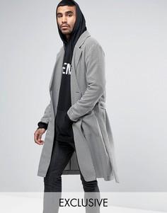 Куртка в ломаную клетку Reclaimed Vintage Inspired - Черный