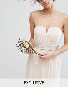 Декорированный пояс TFNC WEDDING - Розовый