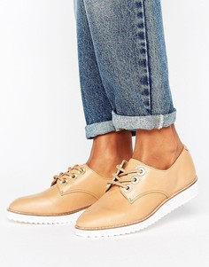 Ботинки на шнуровке и контрастной подошве ALDO - Рыжий