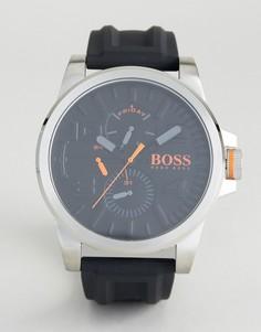 Часы с черным резиновым ремешком BOSS Orange By Hugo Boss Detroit Sport 1550006 - Черный