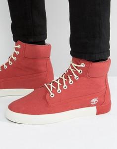 Парусиновые ботинки Timberland Newport 6 дюймов - Красный