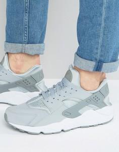 Серые кроссовки Nike Air Huarache Run - Серый