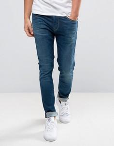 Темные узкие джинсы Pepe Jeans Nickel - Синий