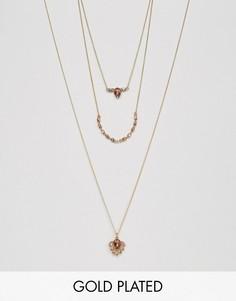 Ярусное ожерелье Johnny Loves Rosie - Розовый