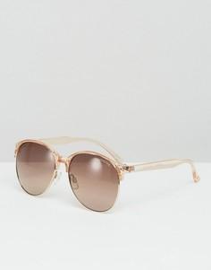 Круглые солнцезащитные очки Minkpink Selfie - Коричневый