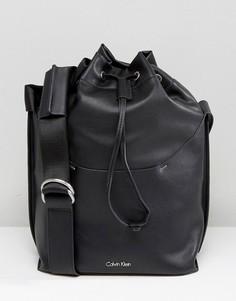 Сумка с затягивающимся шнурком Calvin Klein - Черный