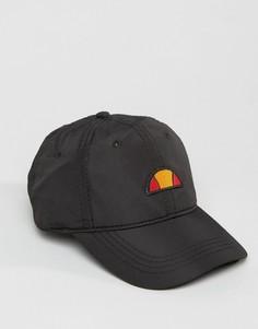 Нейлоновая кепка с небольшим логотипом Ellesse - Черный